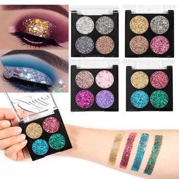 Festival Glitter Sequin Eye Shadow Palette Shimmer Eye