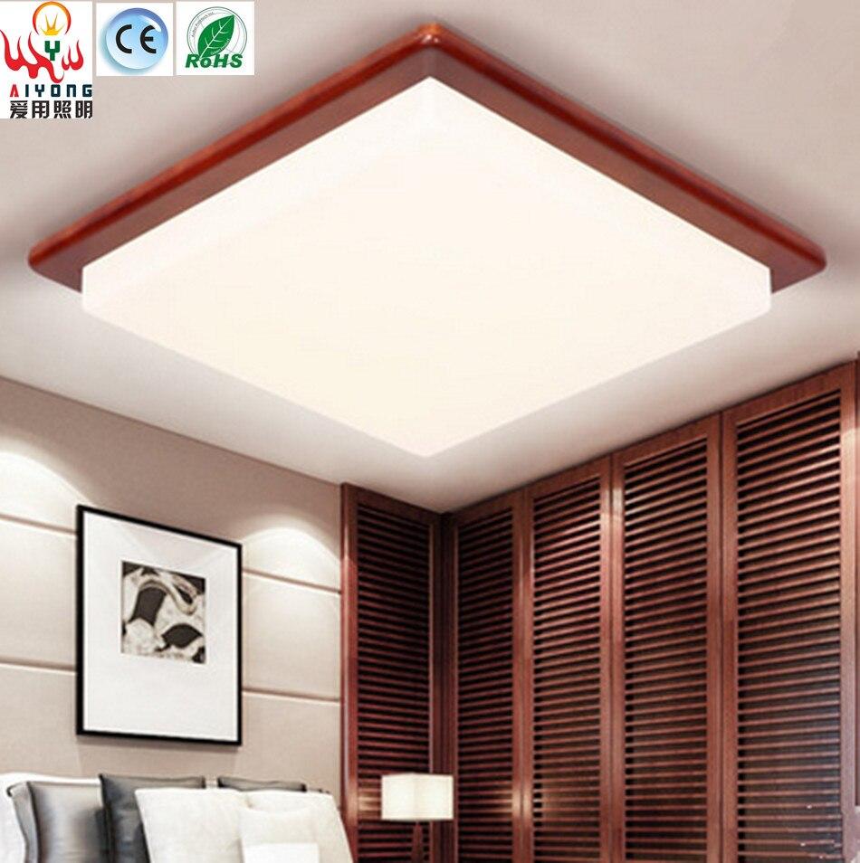 Online kopen wholesale plafondlamp hout uit china plafondlamp hout groothandel - Decoratie corridor ...