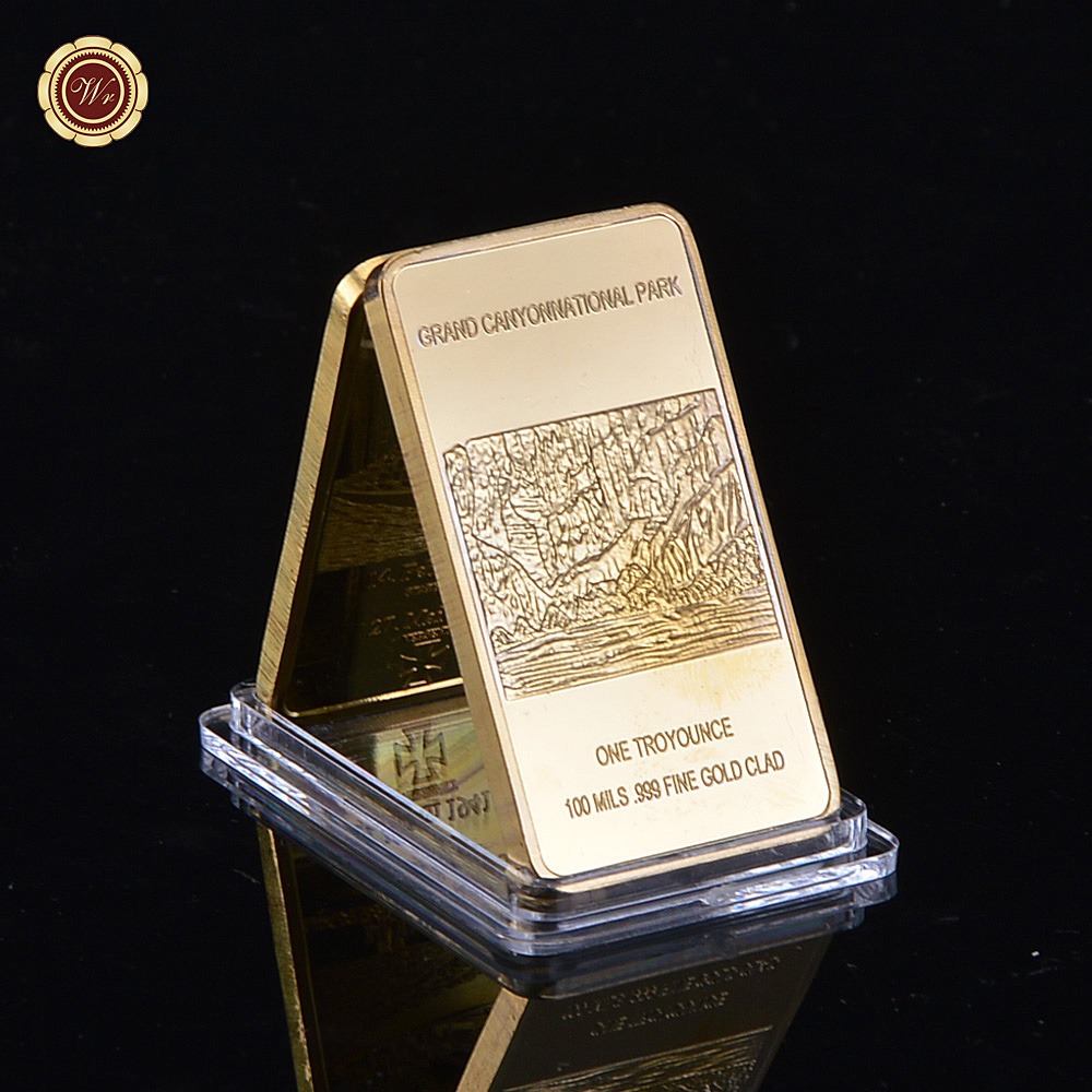 Deutsche-Reichsbank-Germany-24k-Gold-Plated-Bar-Capsule-Replica-Gold-Bar-Germany-Custom-As-Gifts-Collection
