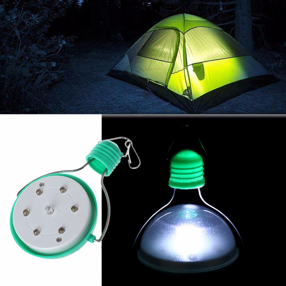 Portable Solar Power Waterproof 72LM Outdoor Garden Camping Tent Yard LED Light Lamp-15