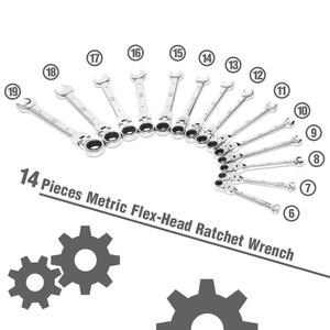 Image 3 - Prostormer 14 шт. набор ключей универсальный ключ гаечные ключи с задерживающими храповиками набор ручной инструмент гаечный ключ Набор универсальный гаечный ключ инструмент инструменты для ремонта автомобиля