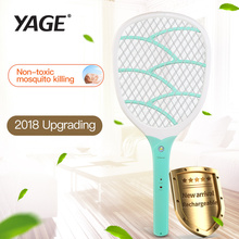 YAGE USB Electric Mosquito Swatter Repellent Bug Insect  Reject Killers Pest Reject Racket Trap Anti Mosquito Fly With Lights