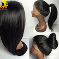 8A Full Lace Human Hair Wigs For Black Women Peruvian Straight Full Lace Wigs With Baby Hair Glueless Lace Front Human Hair Wigs