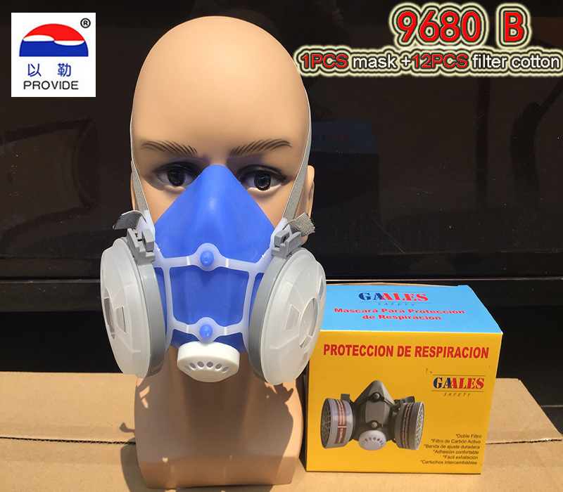 PROVIDE dust mask high quality silicone respirator dust mask dust smoke painting industrial safety safety masks provide respirator dust mask high quality gray dust mask 10 piece filter cotton painting welding respiration mask