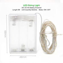 Waterproof String Lights For Christmas Festive Party Supplies