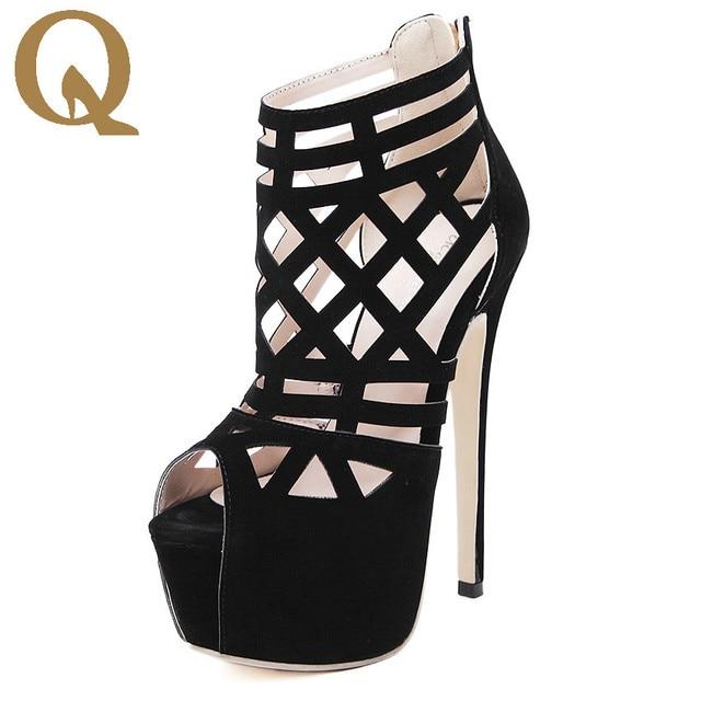 Altos Cómodo De Mujer Tacones Zapatos Cm Súper Roma 16 Elegante Sexy DWH2IE9