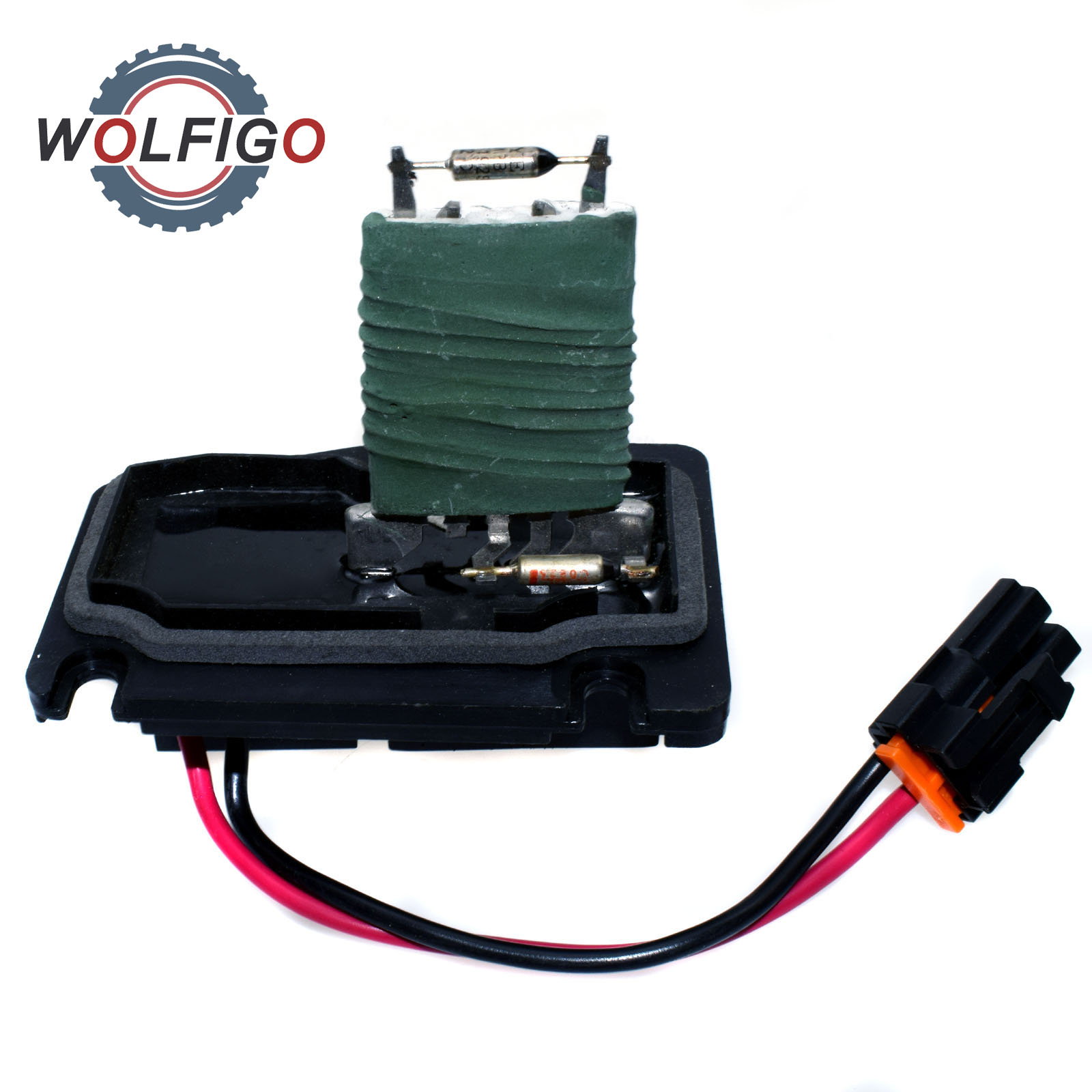 US $15 15 12% OFF|WOLFIGO Heater Fan Speed Regulator A/C Blower Motor  Resistor Fuse for Buick Chevy Oldsmobile Pontiac 12135102 15304891  15393829-in