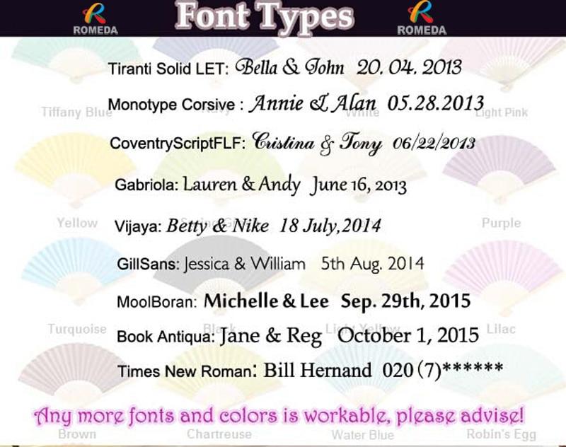 Nombre y fecha de impresión Palillo de cinta de boda / varitas de - Para fiestas y celebraciones - foto 2