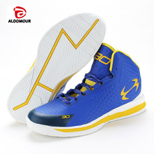 ALDOMOUR Newest Men Basketball Shoes 2017 Female Ankle Boots Anti-slip outdoor Sport Sneakers Plus Size EU 36-45 Free Shipping