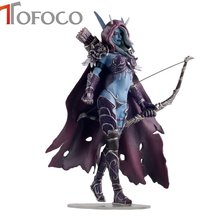 TOFOCO 6 inch Game WOW Lich King Sylvanas Windrunner Figma Anime Darkness Ranger Lady Pvc Action Figure Kids Gift Toys(China)