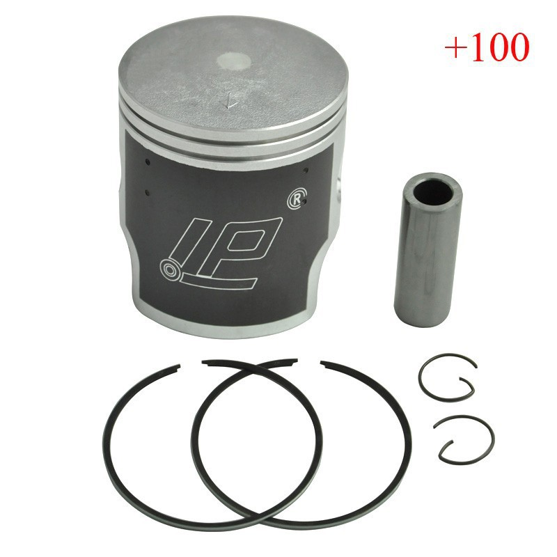 KDX250 Piston & Piston Rings Kit Motorcycle Engine Parts Piston Set For Kawasaki KDX 250 +100 Cylinder Bore Size 68.4mm New parts for changchai zn490q engine gasket piston rings cylinder liner main bearings water temp sender water pump pistons