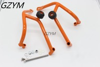 For Ktm DUKE 200 DUKE200 Motorcycle Accessories Engine Protetive Guard Crash Bar Protector