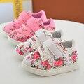 Linda princesa infantiles shoes con flor encantadora del calzado para niños baby girls shoes shoes toddler suela blanda zapatos nina