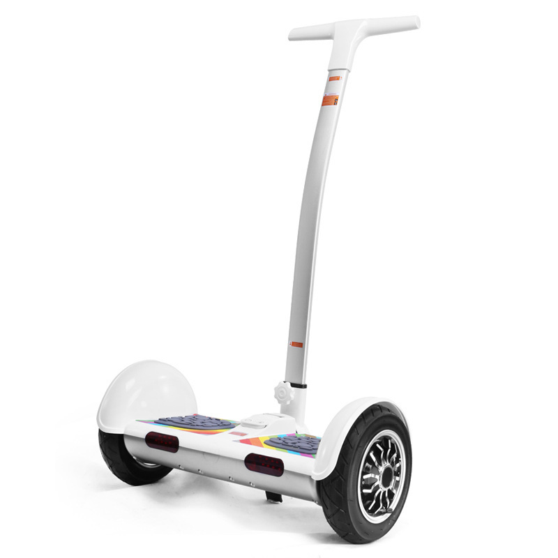 buy 10 inch 2 wheel electric scooter with hand smart balance drift hoverboard. Black Bedroom Furniture Sets. Home Design Ideas