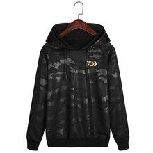 2019 NEW DAWA Sweater Fishing Sportswear Fishing Jerseys Anti-Sun Fishing Clothing Long Sleeve Anti-UV Autumn Fishing Hooded