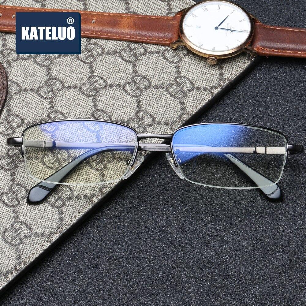 df0e38138c KATELUO Brand Computer Goggles Men Glasses Best Frame Optical Spectacles  Anti Fatigue Radiation-resistant Eyeglasses oculos 8801
