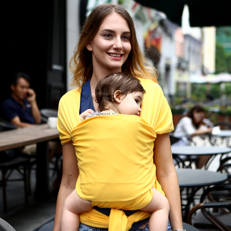 Ergonomic Baby Carrier Double Shoulders Backpack Baby Wrap Sling Toddler Carrier for Newborn Infant Backpack Slings for Babies breathable ergonomic carrier backpack portable infant baby carrier heaps with sucks pad baby sling carrier wrap for newborn