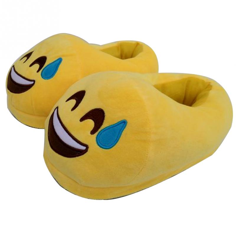 Slippers For Home Use Emoji Soft Cute Cartoon Slipper Winter Warm Plush Women Shoes Indoor Home Slippers For Female Women Shoes 2017 new home slippers women emoji soft cute cartoon slippers for women winter warm plush indoor home shoes winter soft cotton
