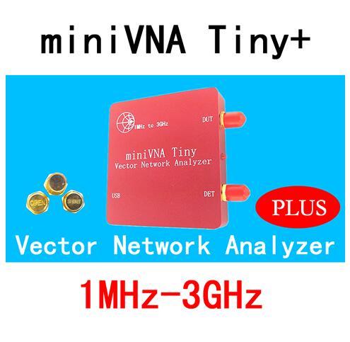US $15 01 10% OFF|VNA 1M 3GHz Vector Network Analyzer miniVNA Tiny+  VHF/UHF/NFC/RFID RF Antenna Analyzer Signal Generator SWR/S  Parameter/Smith-in