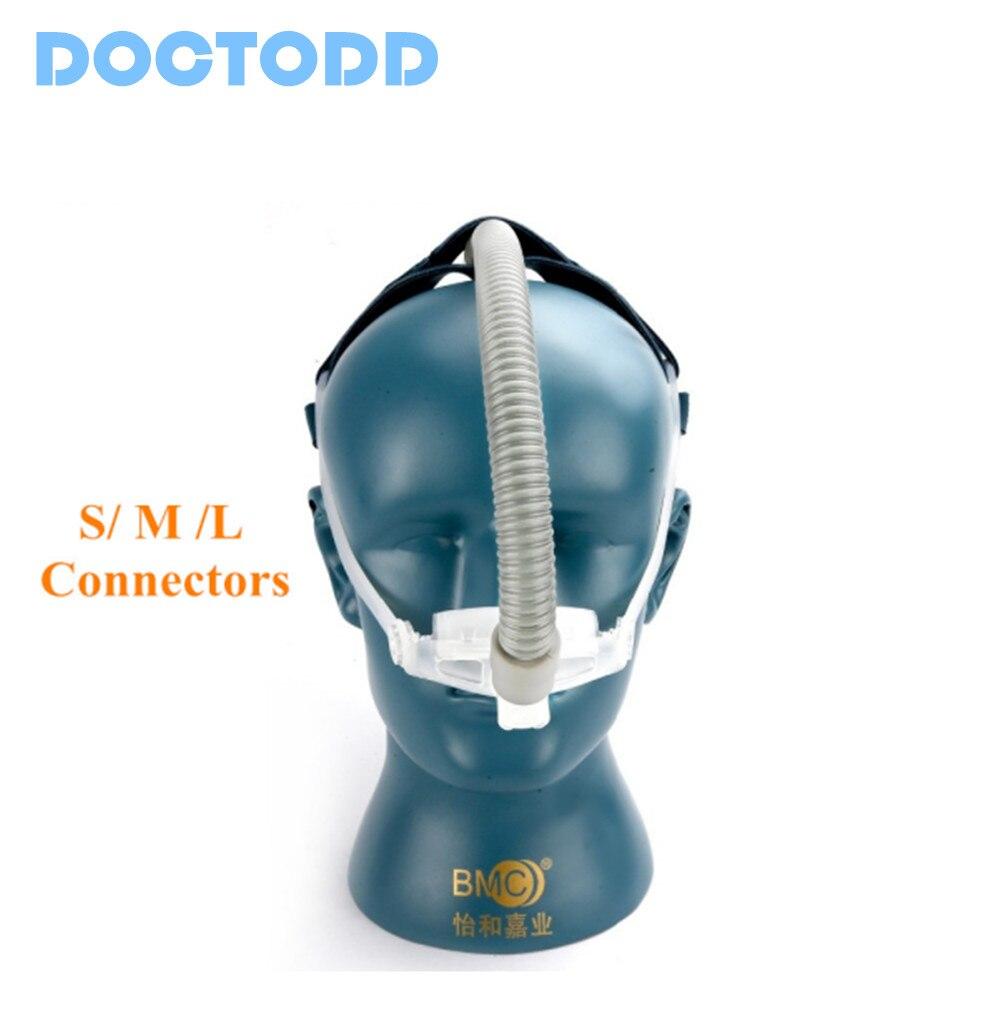 DOCTODD WNP CPAP Nasale Oreillers Système Masque Ventilateur Disponible des Soins de Santé Sommeil 3 Taille Coussin D'arrêt Ronflement Livraison Gratuite