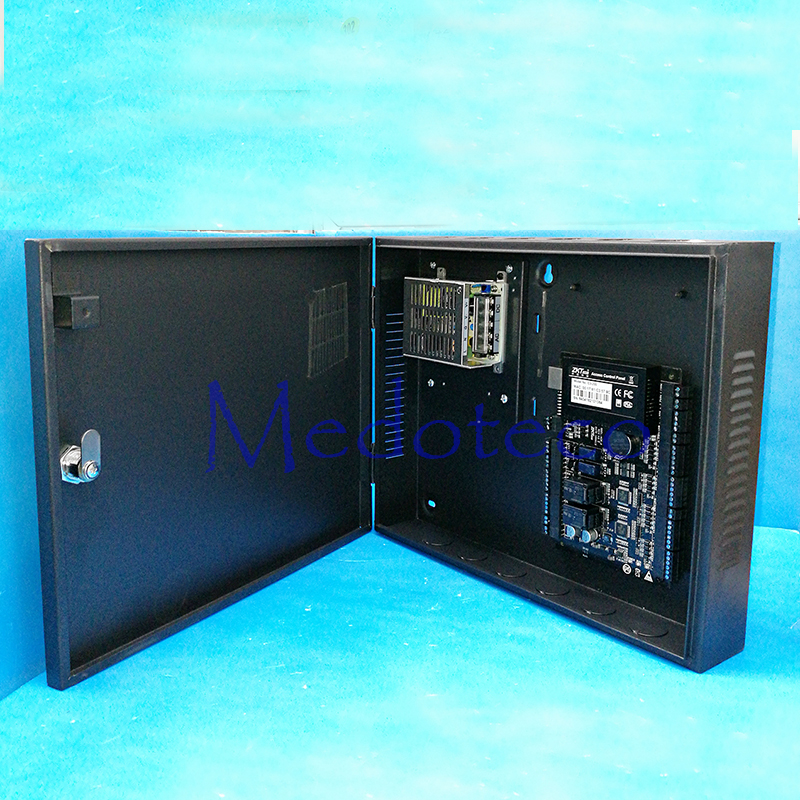 Tcp/ip C3-200 two door access control panel zk door access control system control board +uninterrupted battery function Power sdk two doors two ways input output ports 30000 user tcp ip network zk c3 200 door access control board