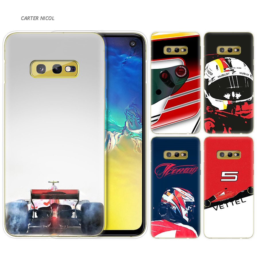Silicone Case For Samsung Galaxy S10 S10e S8 S9 J4 J6 A6 A8 Plus 5G M30 M20 M10 A50 A30 A10 Cover Sebastian Vettel