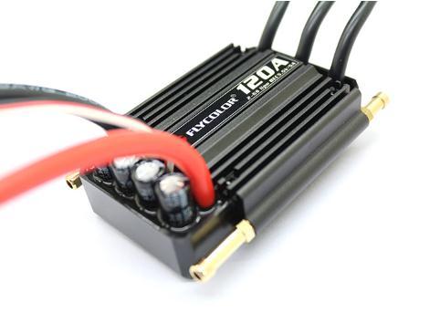 Couleur MOUCHE 50A 70A 90A 120A 150A sans balai Esc Vitesse Control Support 2-6 S Lipo BEC 5.5 V/5A pour RC Bateau F21267/71