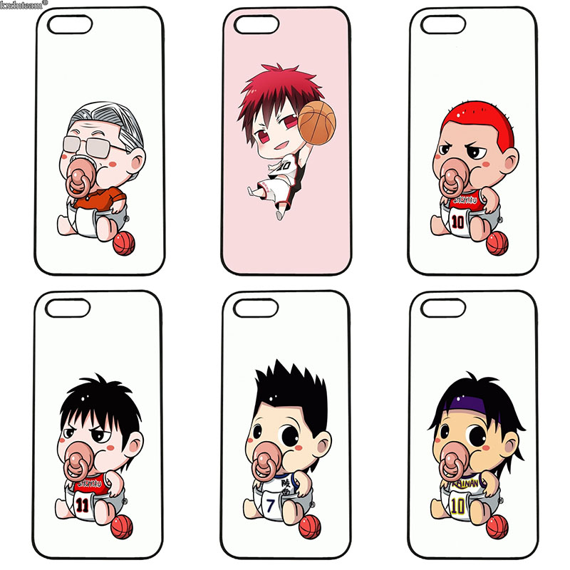 Funny Cartoon Pacifier Child Phone Cases Hard PC Cover Fitted for iphone 8 7 6 6S Plus X 5S 5C 5 SE 4 4S iPod Touch 4 5 6 Shell