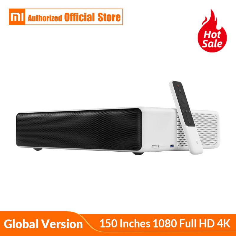 Global Version Xiaomi Mijia Laser Projection TV 150 Inches 1080 Full HD 4K Wifi 2.4G/5GHz Bluetooth 4.0 Support DOLBY DTS 3D