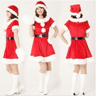 357a394f1768 Cute Christmas installation / game uniforms Christmas Clothing Women ...