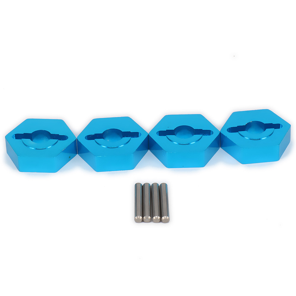 Aluminum 8mm To 12mm Hex Hub Adapter For Rc Hobby Model Car 1 18 Wltoys a959
