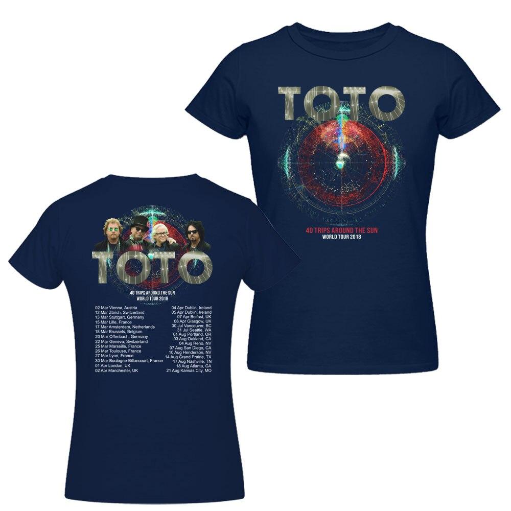 Aliexpress.com : Buy New TOTO 40 Trips Around The Sun World Tour ...