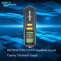 Handheld Feeler Gauge Digital Paint Coating Thickness Gauge Tester Diagnostic Tool Fe NFe Coatings LCD Display