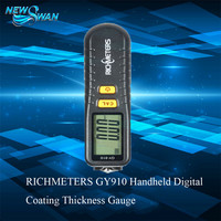 Handheld Feeler Gauge Digital Paint Coating Thickness Gauge Tester Diagnostic Tool Fe NFe Coatings LCD Display