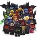 DC Super Heroes Бэтмен И Робин Супермен DC Супергероя Строительные Блоки Игрушки Фигурки Flash и Зеленая Стрелка