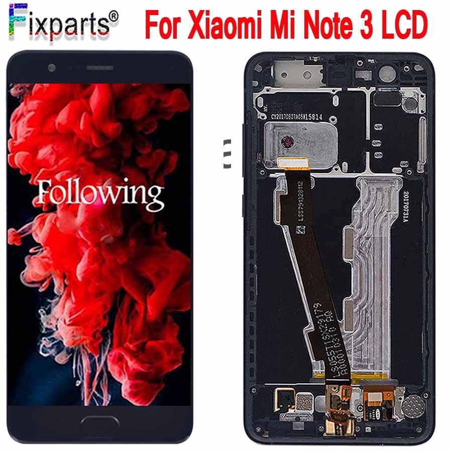 Xiao mi Note 3 écran LCD + écran tactile avec empreinte digitale FPC Test bon panneau de verre écran numériseur pour Xiao mi Note 3 LCD