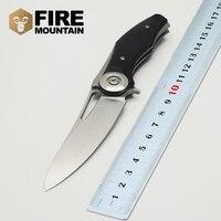 BMT Praetorian TG01 Blade Steel Handle Tactical Camping Knives Survival Folding Blade Knife 8CR13MOV Outdoor Climbing