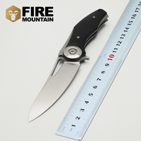 BMT Praetorian TG01 Blade Steel Handle Tactical Camping Knives Survival Folding Blade Knife 8CR13MOV Outdoor Climbing
