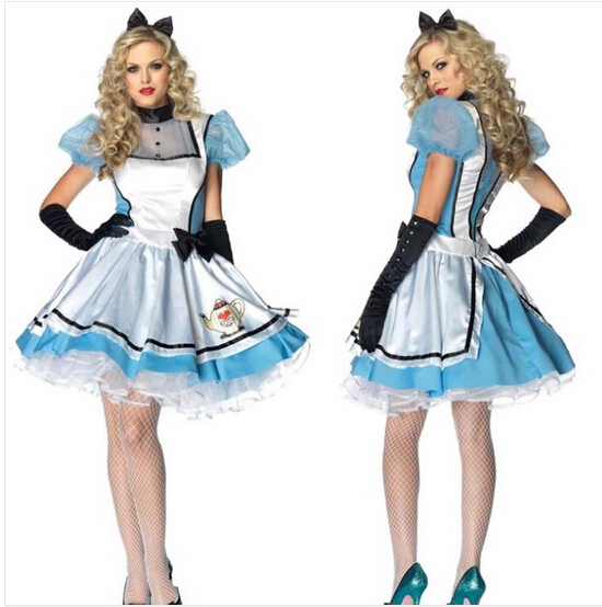 Alice In Wonderland Costume For Women Adult Alice Cosplay -2047