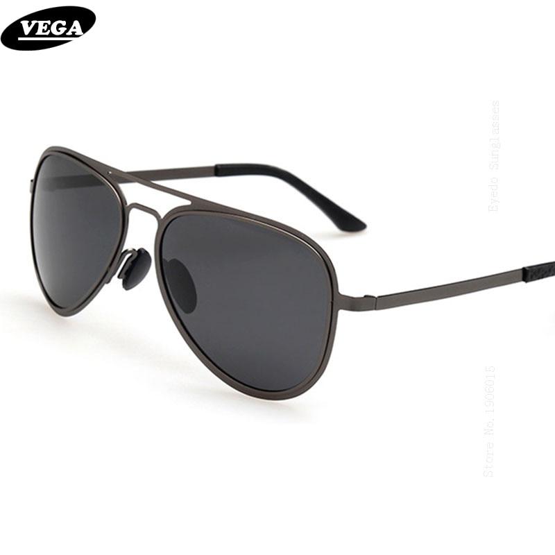 VEGA Clássico Homens HD Visão Envolver Em Torno de Óculos De Sol Das  Mulheres Polarizados Óculos de sol 2017 Flat Top Metal Frame gafas de sol  A228 d2ed775273