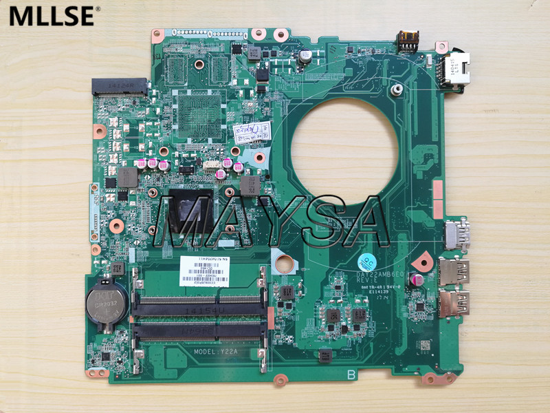 763422-501 FIT FOR HP PAVILION 17-F series Laptop Motherboard DAY22AMB6E0 REV:E A8-6410 Mainboard 90Days Warranty 100% tested 574680 001 1gb system board fit hp pavilion dv7 3089nr dv7 3000 series notebook pc motherboard 100% working