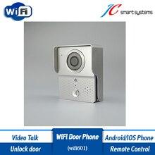 Smart Wifi Video Door Phone Wireless Motion Sensor Doorbell With Camera Designed for Home Security
