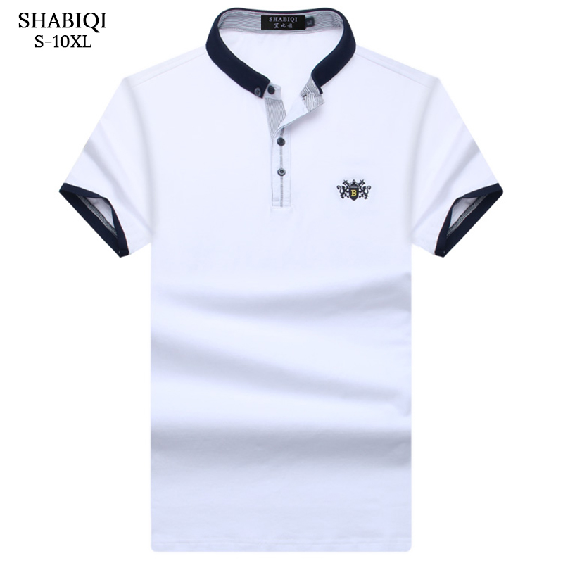 Shabiqi New 2018 Brand Polo Shirt Men Cotton Fashion Lion Standard