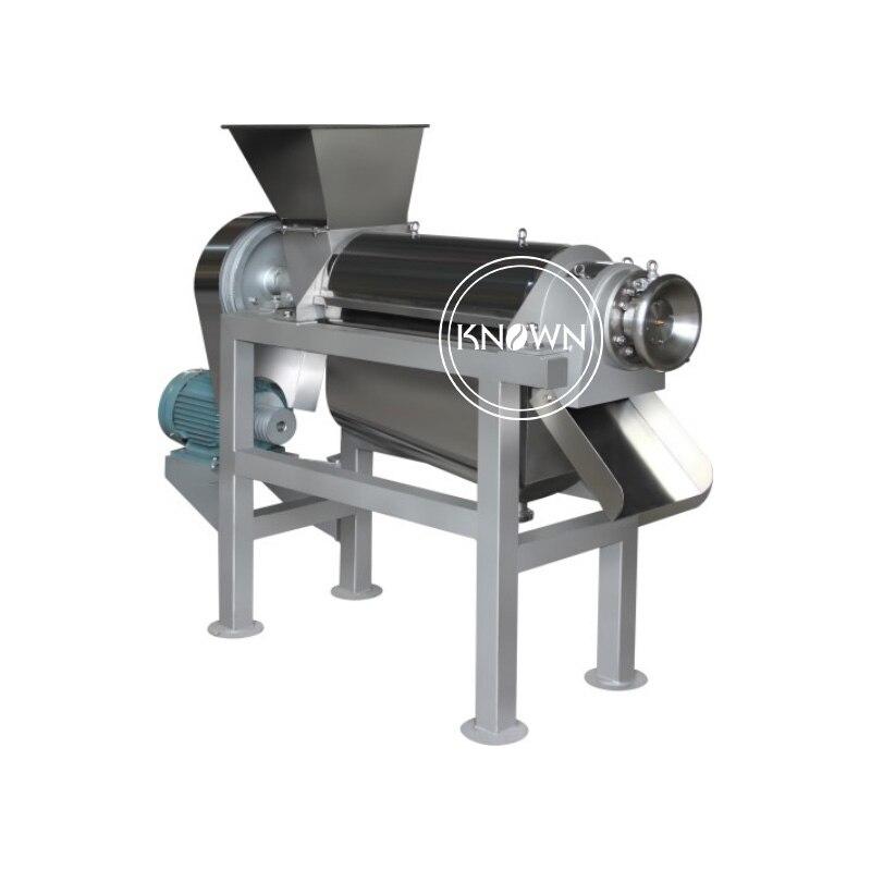 Extractor de tornillo de exprimidor de fruta en espiral/extractor de jugo de pimienta de jengibre/máquina de jugo de prensa de tornillo máquina de jugo en espiral para fruta
