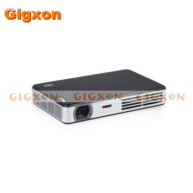 DLP LED projector The performance can reach the level of 400 lumens DLP bulb projector 16GB