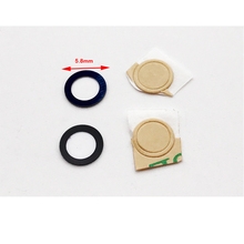 2 pcs/lot ,New For Iphone 6 7 Glass Camera Lens Cover Replacement Parts with Adhesive Sticker