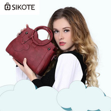sikote 2017 new female package. Fashion kitten bag Messenger bag shoulder bag