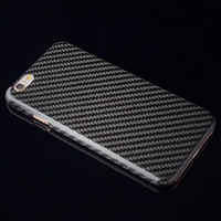 Pure carbon fiber phone case retro Original real carbon fiber Case For Iphone 6 S 7 8 plus X S hard back protective screen cover