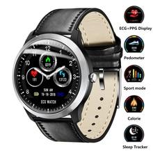 Умные часы ЭКГ + PPG умные фитнес-часы пульсометр кровяное давление часы водостойкие Smartwatch для IOS Android телефон часы