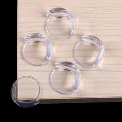 10 шт./лот Детская безопасность накладка на углы Прозрачный Анти-столкновения угол защиты крышка краевой защитный кожух Детская